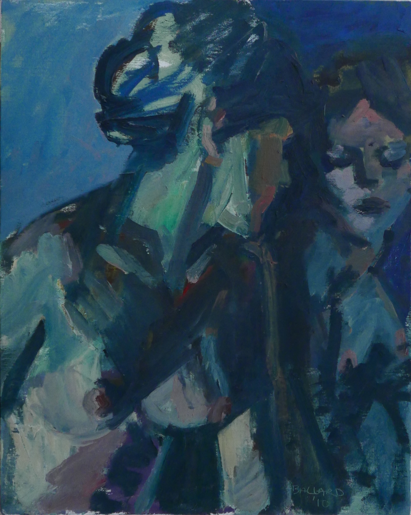 'Woman Looking in Mirror', oil on canvas, 51cm x 40.5cm, £4,500
