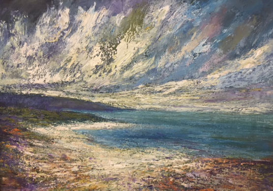 Inishboffin,  oil on canvas - £2400