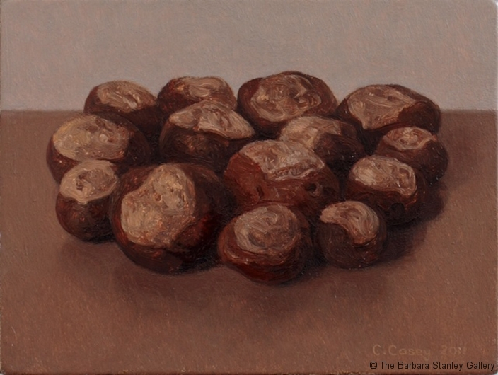 Fourteen Chestnuts, oil on canvas