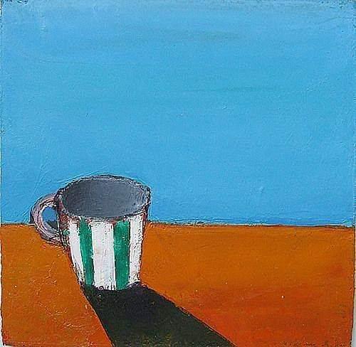 'Auribeau Morning', oil on board, 30cm x 30cm, £550