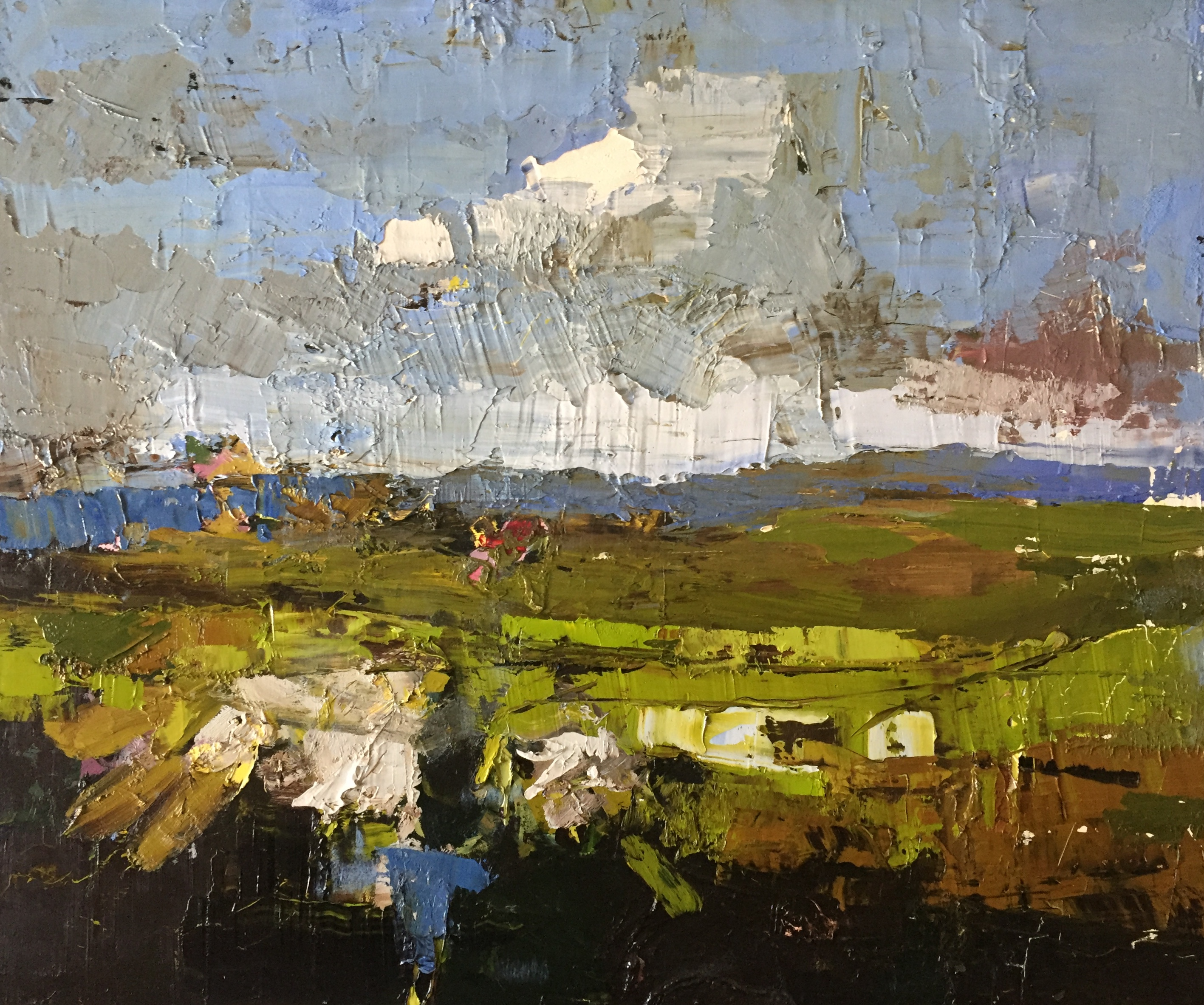 'Cashel Connemara', oil on panel, 51cm x 61cm, £8500
