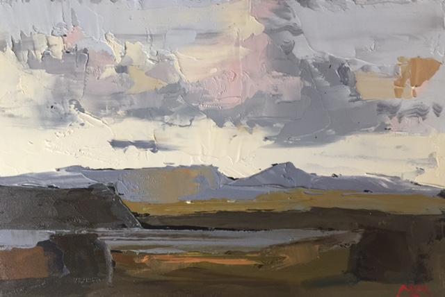 'Cashel Study I', oil on panel, 20cm x 30cm, £2,500