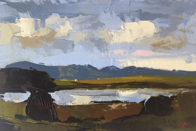 'Cashel Study II', oil on panel, 20cm x 30cm, £2,500