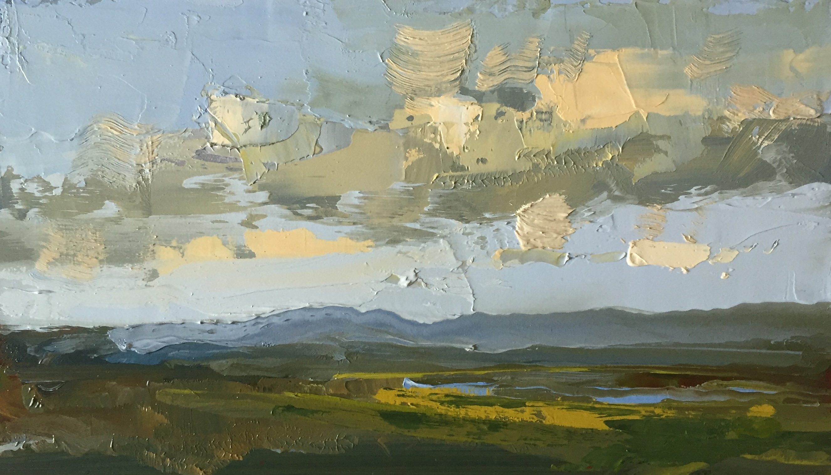 'Cashel Study IV', oil on panel, 18cm x 30cm, £2000