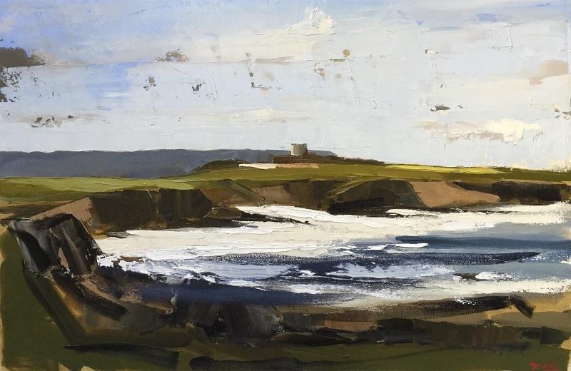 'Mullaghmore County Sligo', oil on panel, 61cm x 91cm,  £10,000