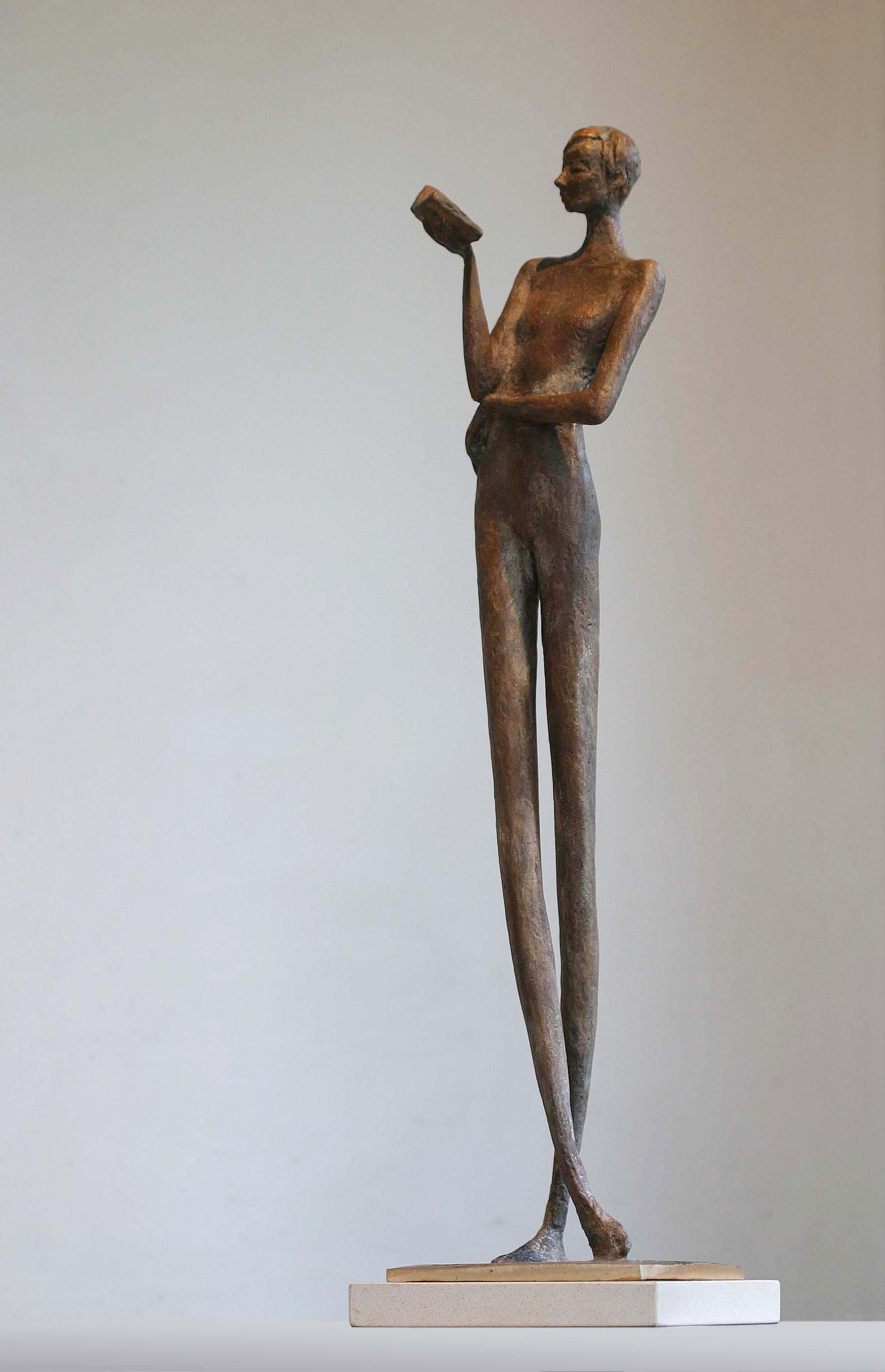 'Between Takes', Bronze, edt 2 of 9, 55cm x 12.5cm x 13cm