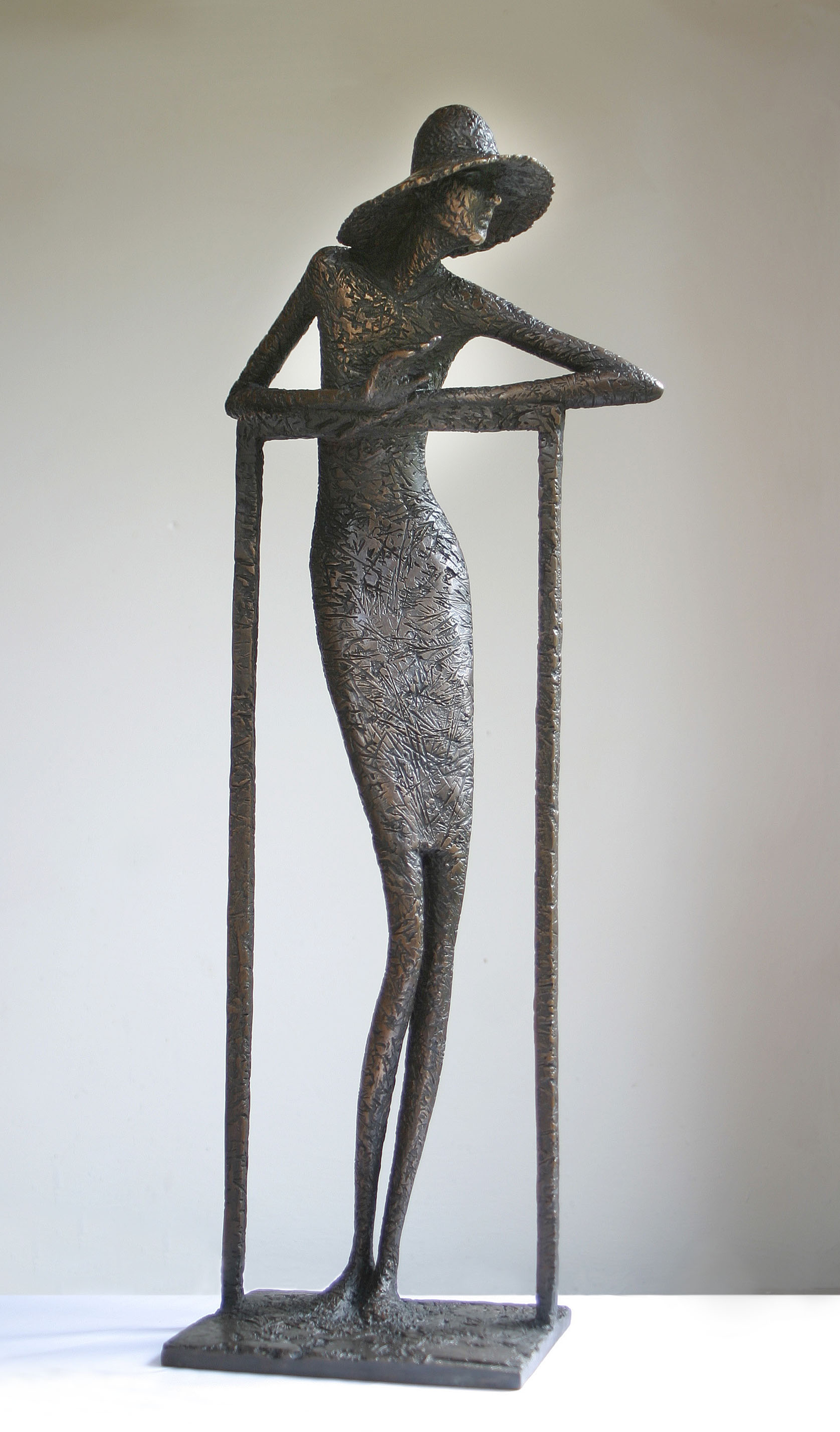 'Parting', Bronze, edt 4 of 5, 60cm x 25cm x 15cm