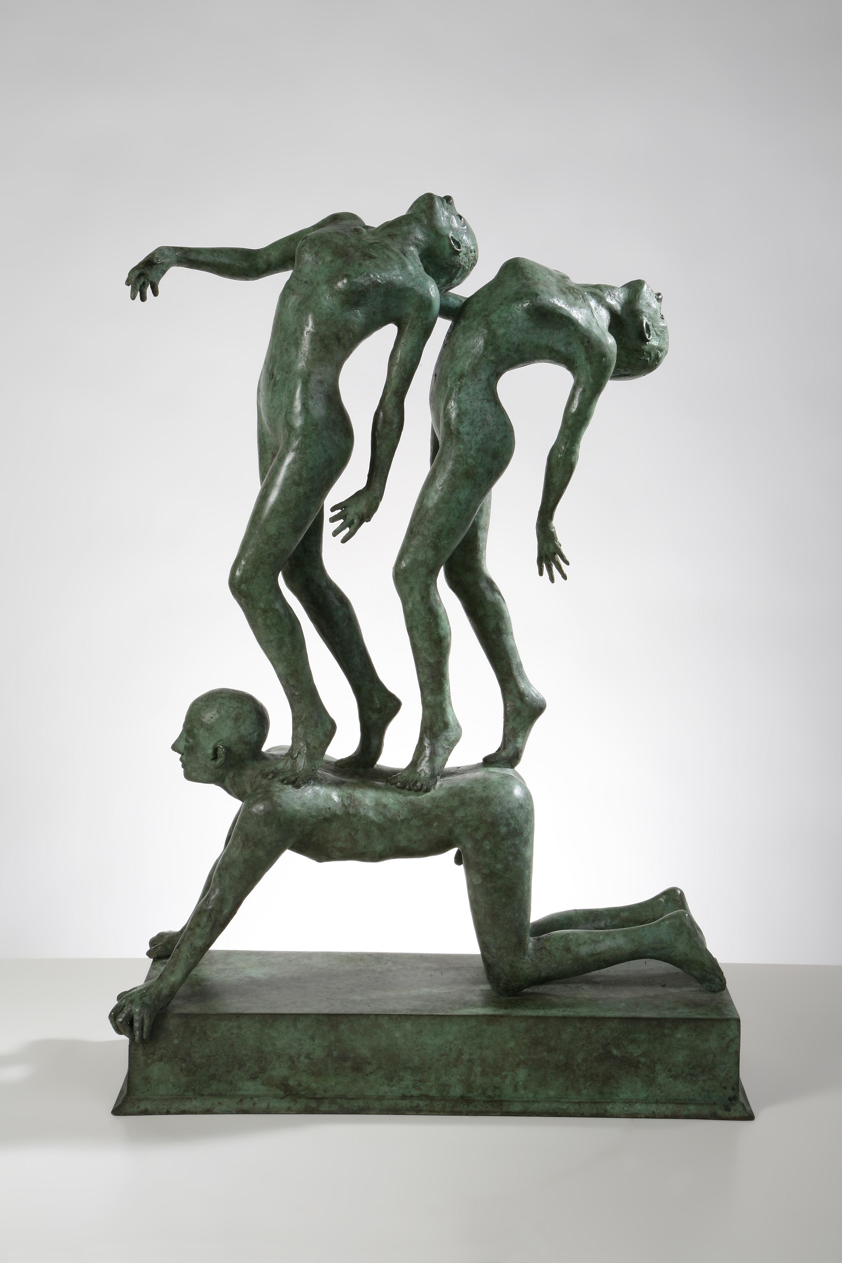 'Amuse Amuse', Bronze unique, 75cm x 18cm x 50cm, E6500