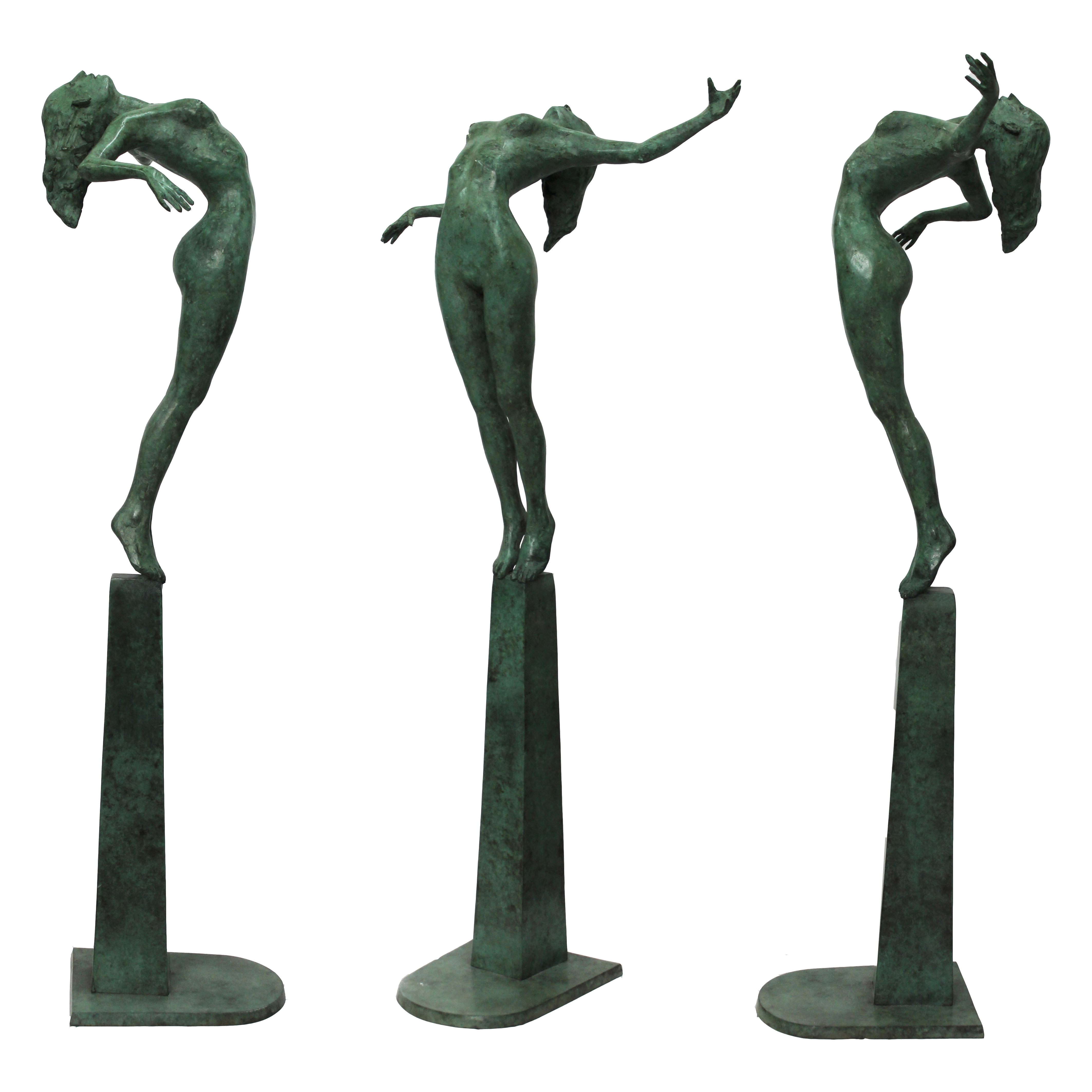 'Into Air', Bronze, edt of 3, 90cm x 43cm x 30cm, E4400