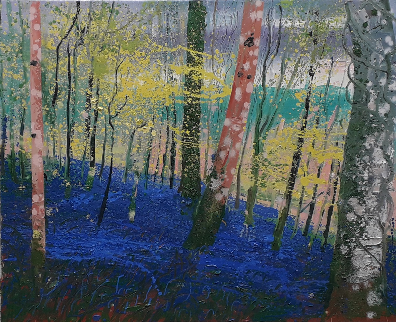 \'Knockmanny Bluebells\', oil on canvas, 100cm x 80cm, £2300