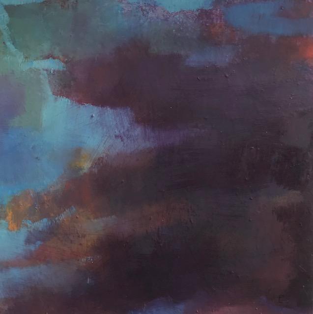 'Lionain',  oil on canvas, 41cm x 41cm, £1225