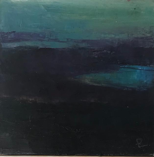 'Na Mara', oil on canvas, 41cm x 41cm, £700